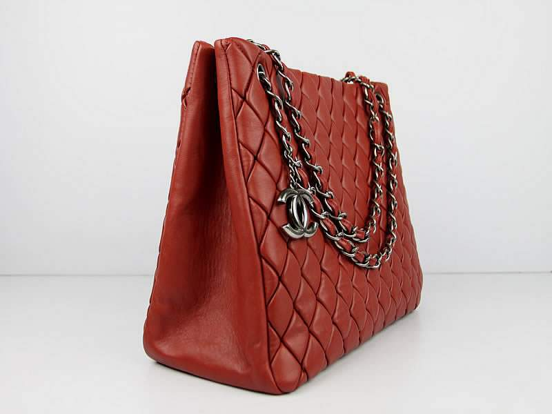 0ef4b898055c32 Chanel 60288 Original Quilted Lambskin Flap Bag-Red [60288rdyby ...