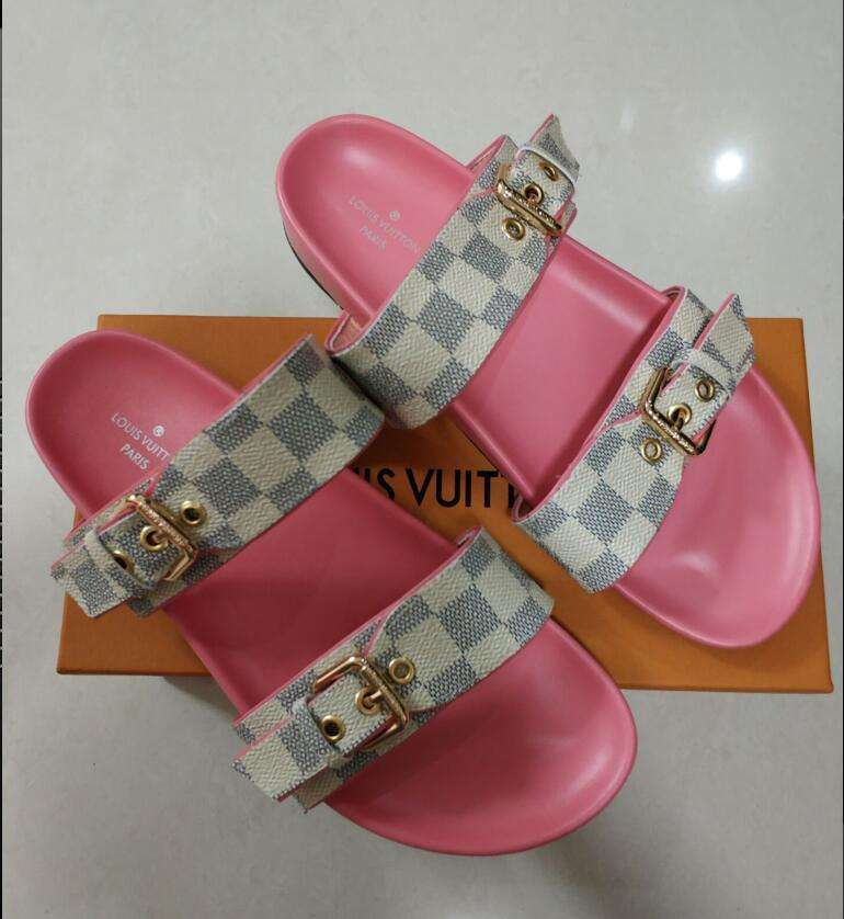 2019 NEW Louis Vuitton shoes Pink 0517