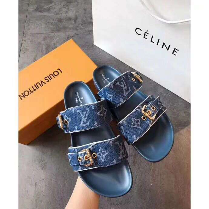 2019 NEW Louis Vuitton shoes blue 0517