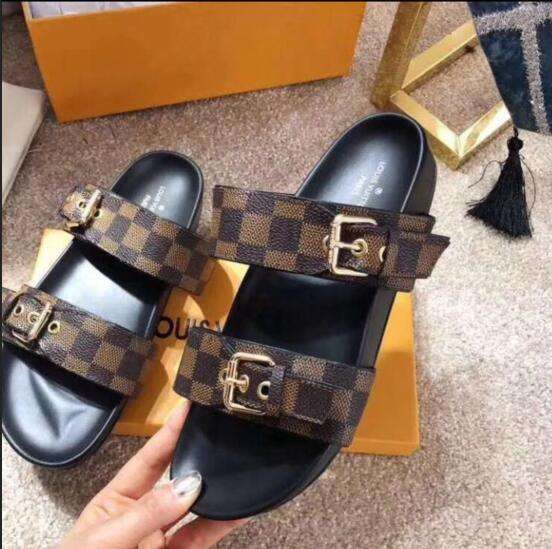 2019 NEW Louis Vuitton shoes brown 0517