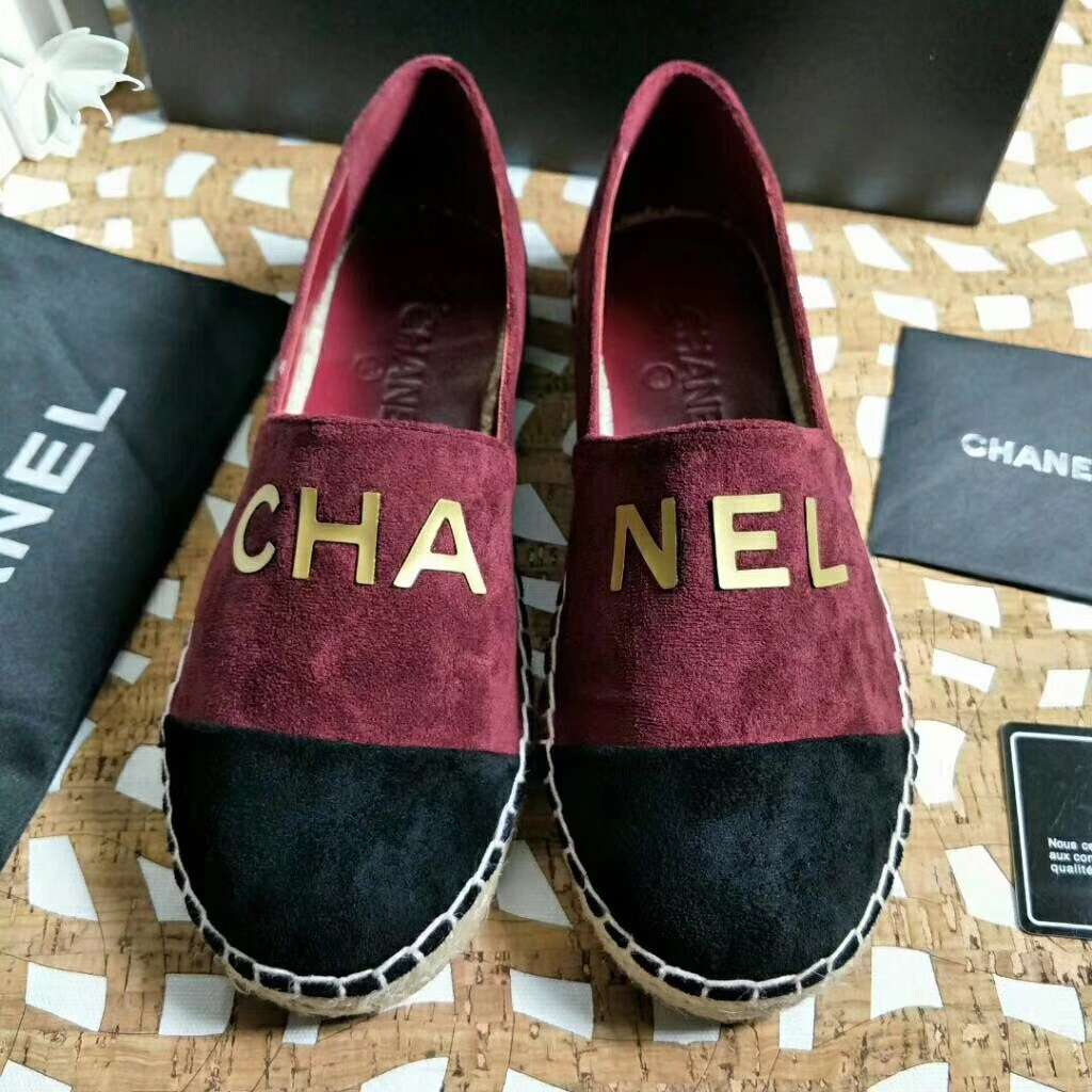 2019 NEW Chanel Real leather shoes CHANEL 101205 Red