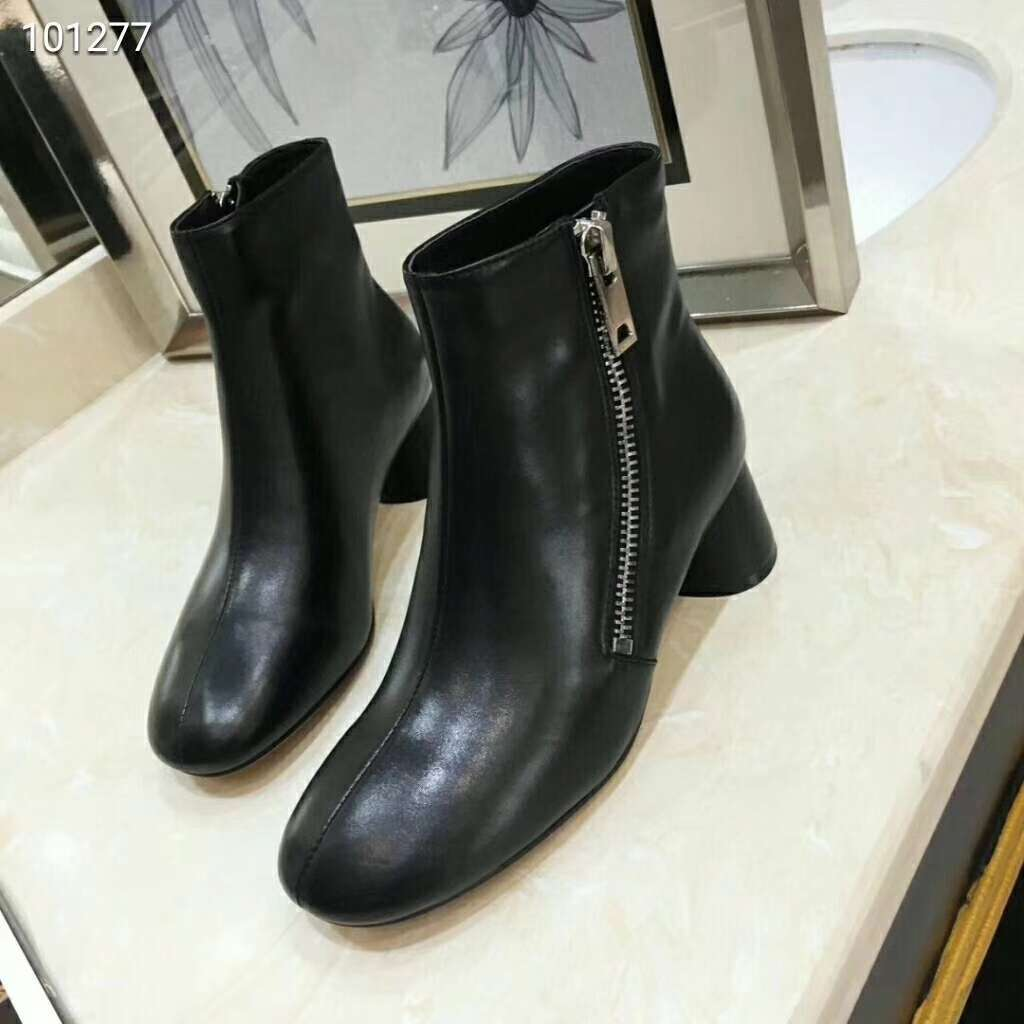 2019 NEW Celine Real leather shoes 100277 black