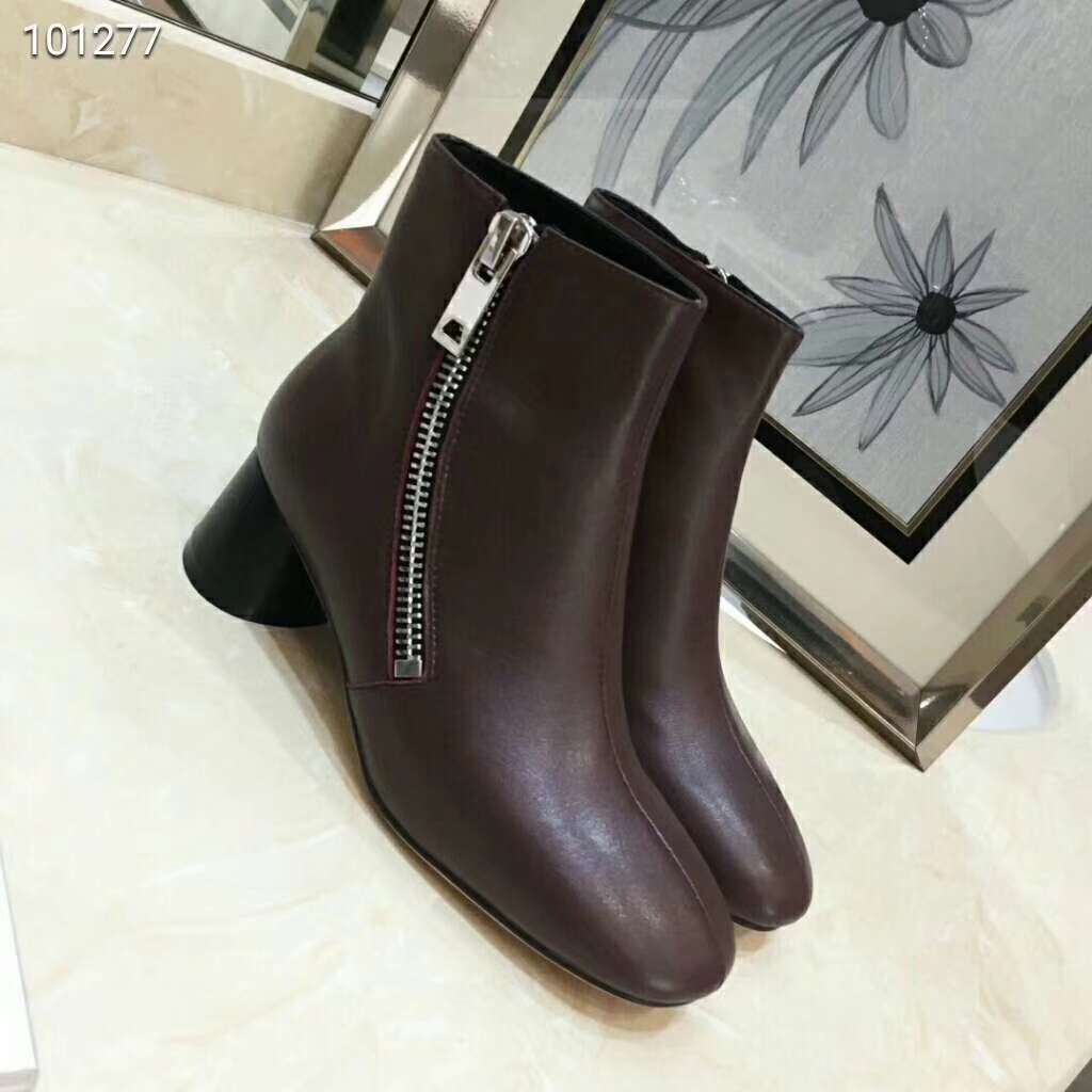 2019 NEW Celine Real leather shoes 100277 brown