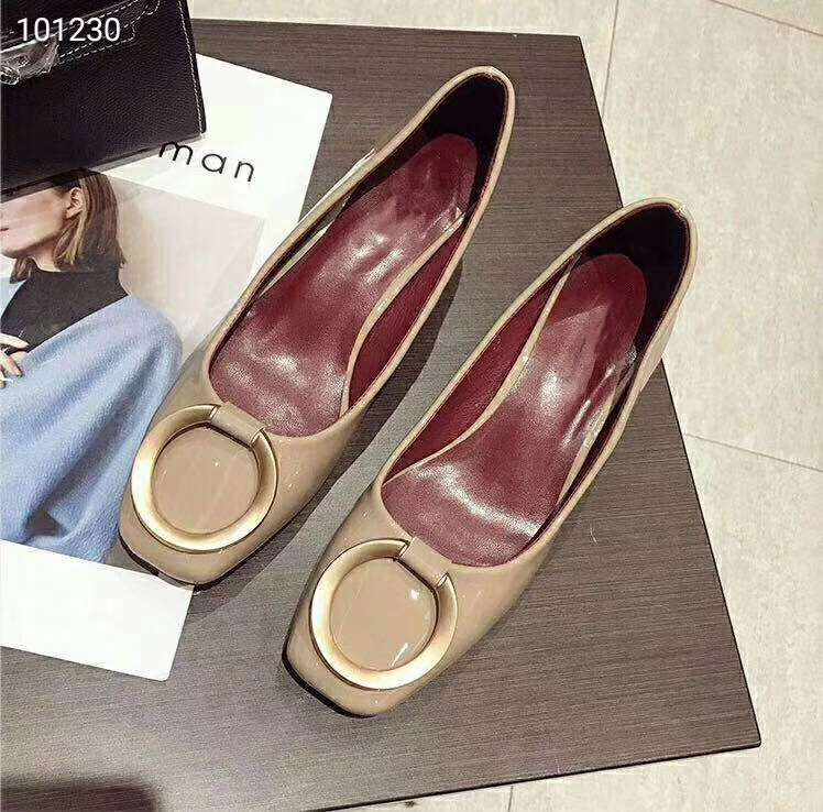 2019 NEW Christian Dior Real leather shoes DIOR101230apricot