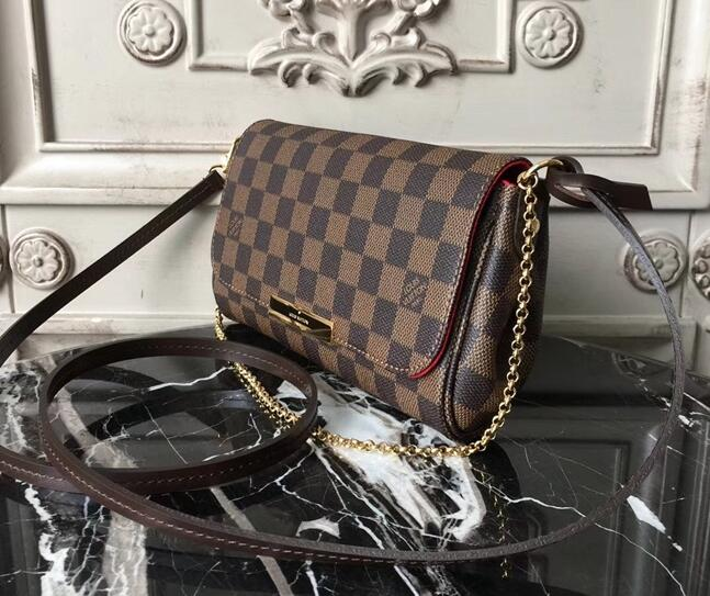 Louis Vuitton Damier Ebene Canvas FAVORITE MM N41129