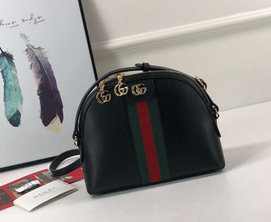 Gucci Ophidia small shoulder bag 499621 DJ2DG 1060 Black