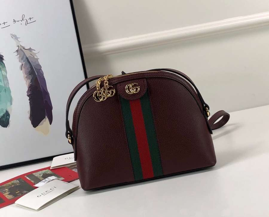 Gucci Ophidia small shoulder bag 499621 DJ2DG 6673 Red