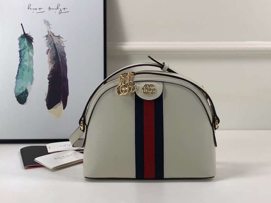 Gucci Ophidia small shoulder bag 499621 DJ2DG 8454 White