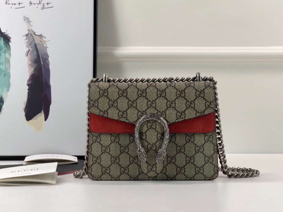 Gucci Dionysus mini leather bag 421970 KHNRN 8698