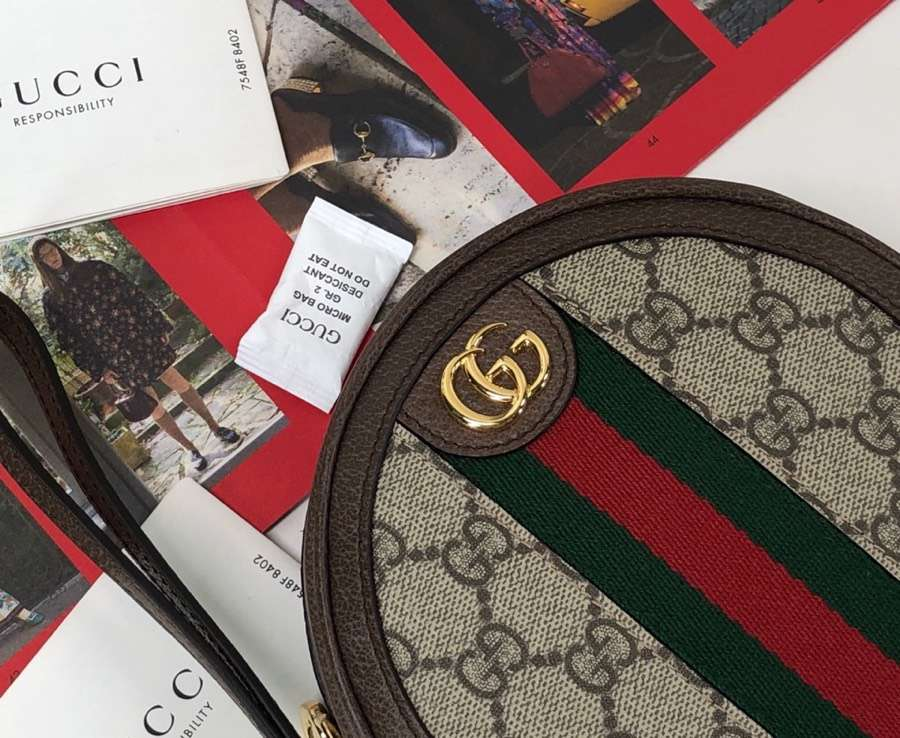 2019 new arrival Gucci bag 574841 coffee