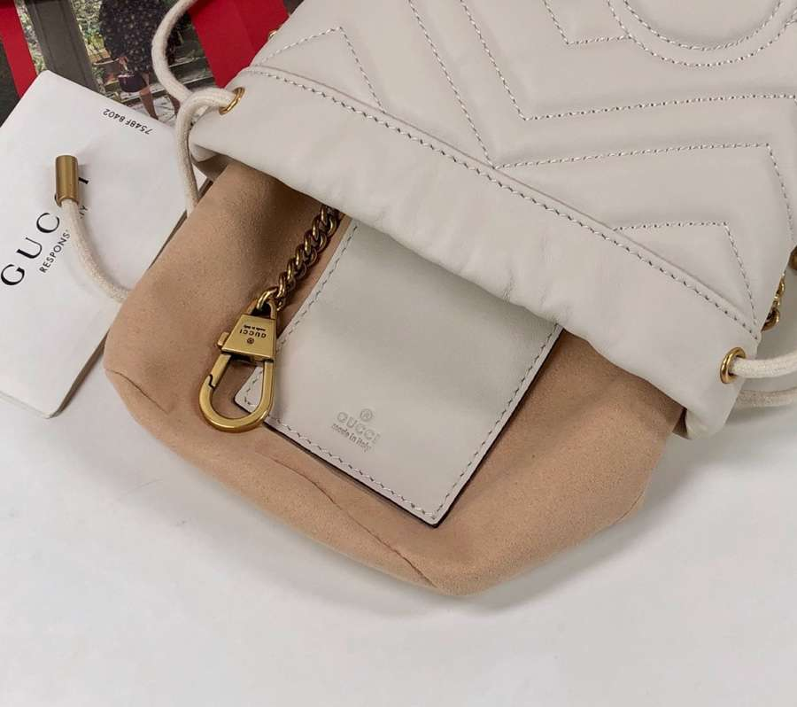 Gucci GG Marmont mini bucket bag 575163 DTDRT 9022