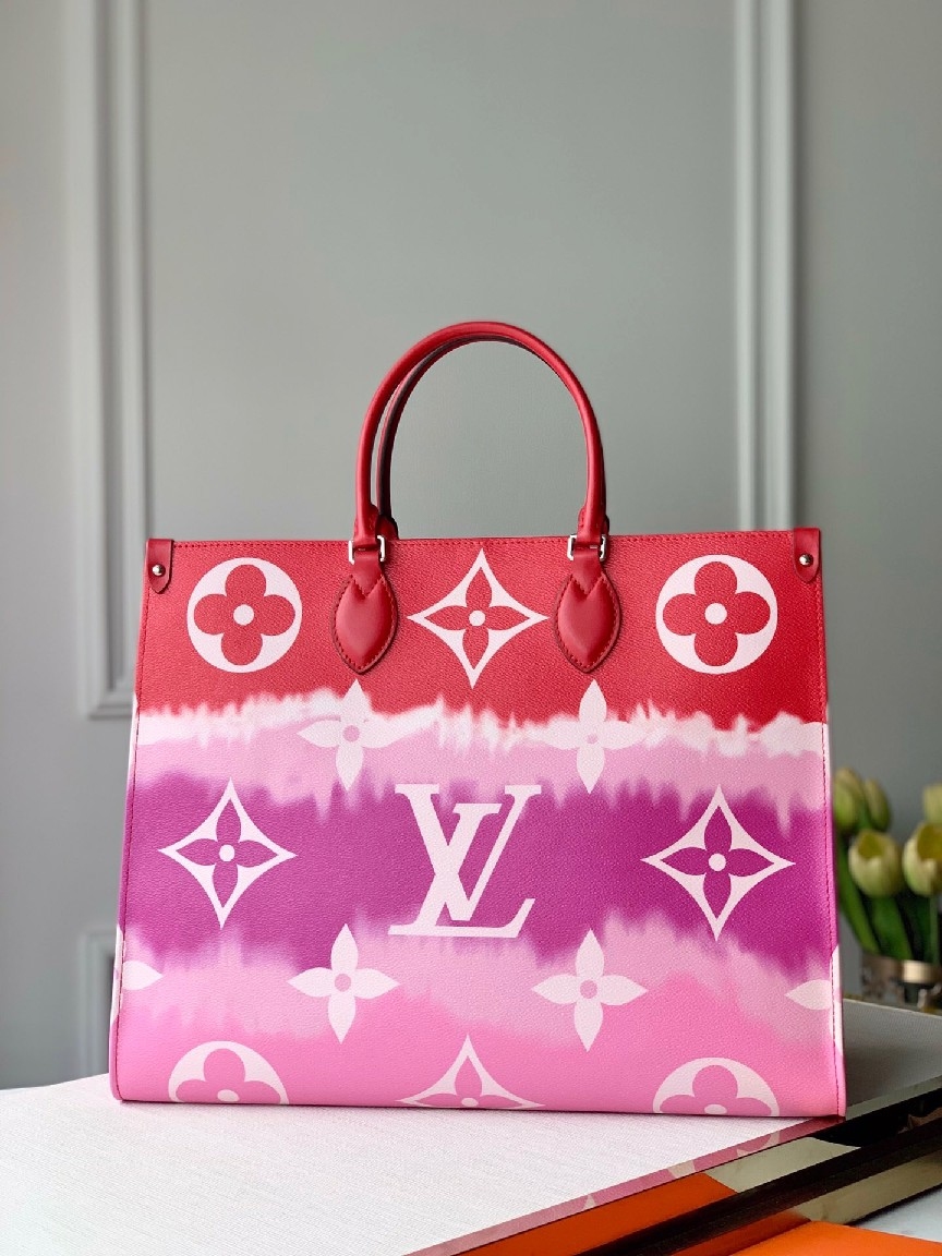LOUIS VUITTON LV Escale Onthego GM M45121 RED