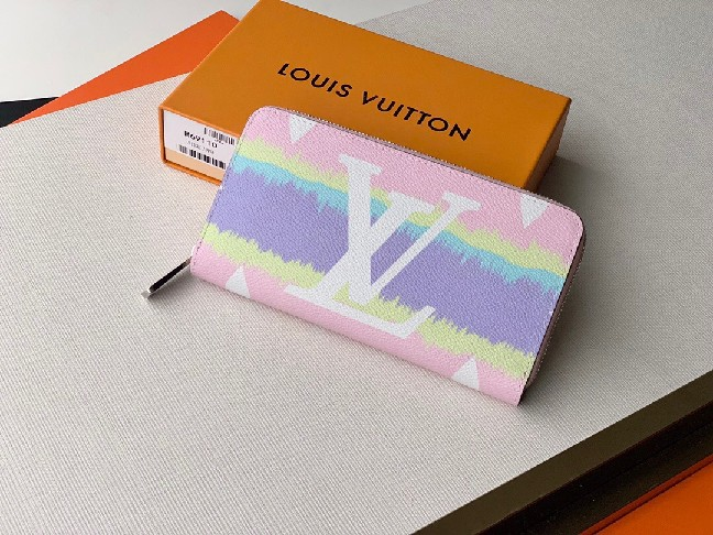 Louis Vuitton LV ESCALE ZIPPY WALLET M69110 Pastel