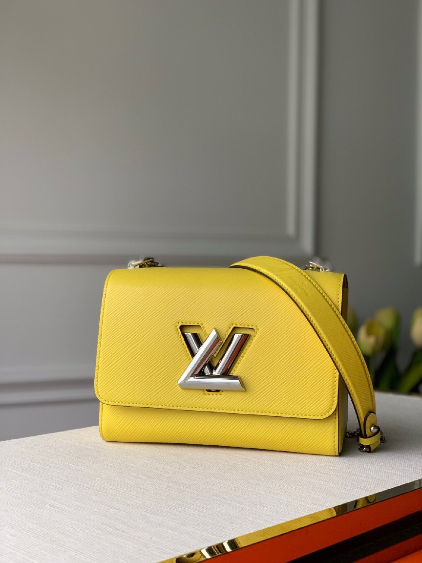 Louis Vuitton TWIST MM M50280 yellow