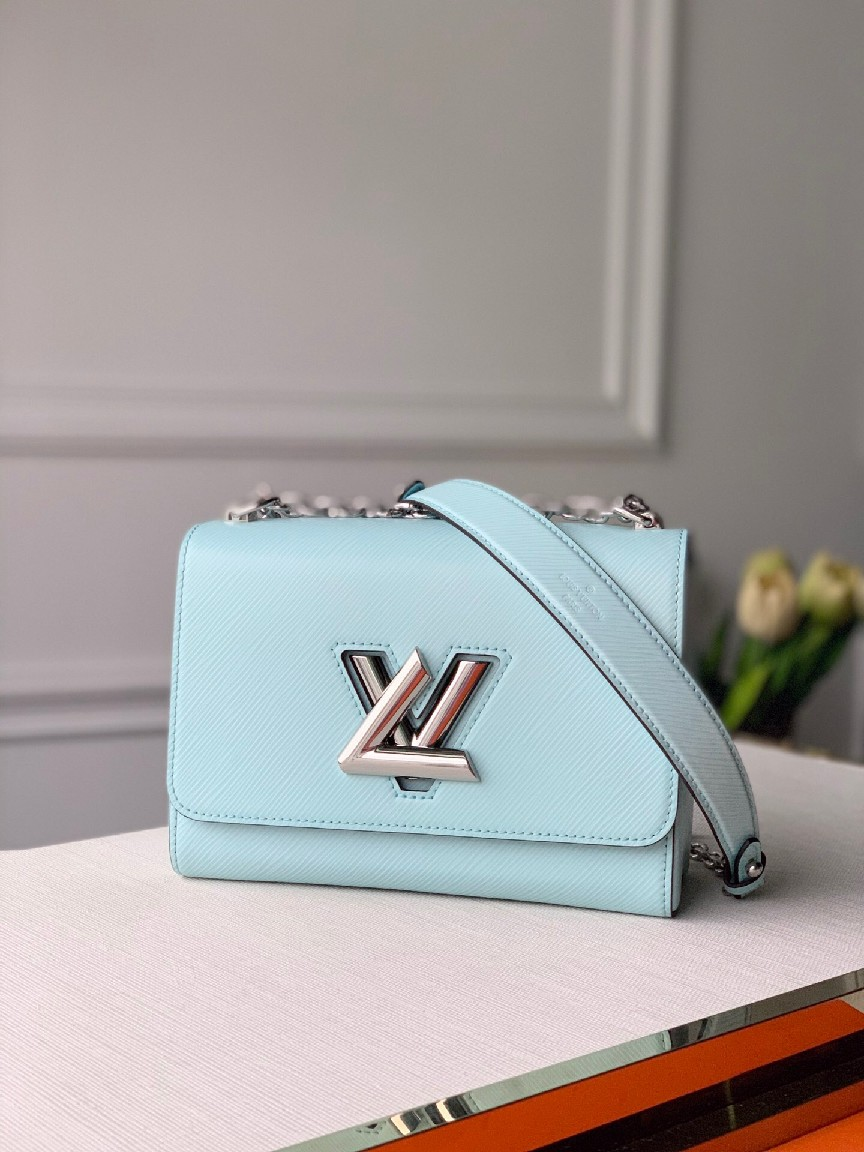 Louis Vuitton TWIST MM M56372 Seaside Blue
