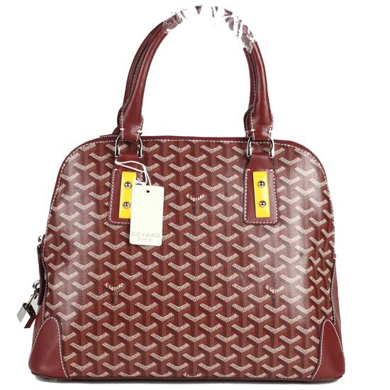 Goyard Tote Bag 2390 wine red