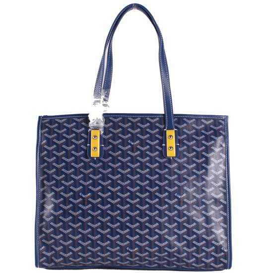 Goyard wheat tote handbag 2391 Blue