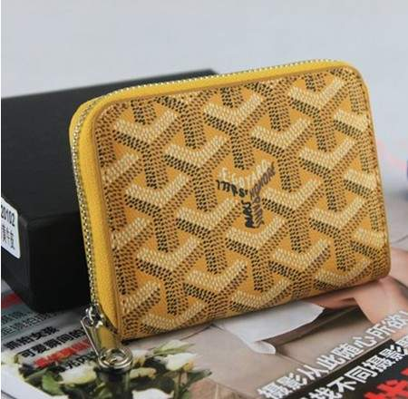 Goyard wallet 020102 yellow