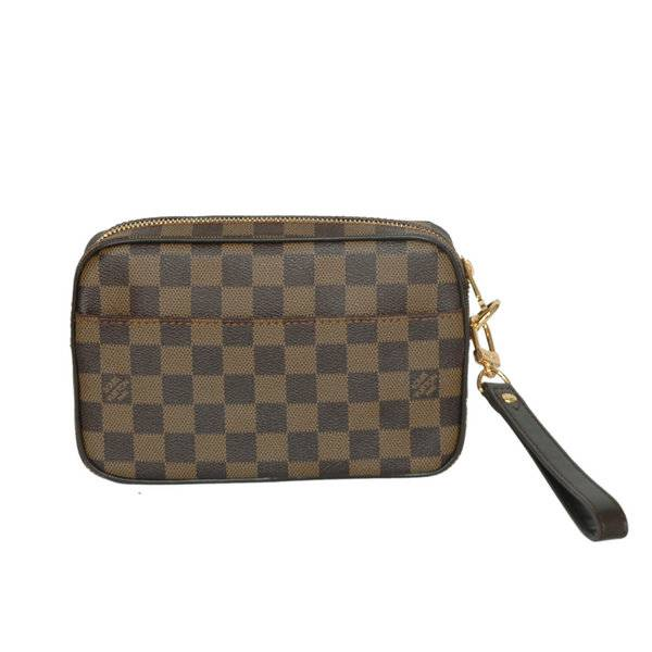 Replica Louis Vuitton N61739 Damier Canvas MACAO CLUTCH