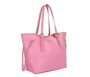 2014 Prada fabric shoulder bag BL1563 pink