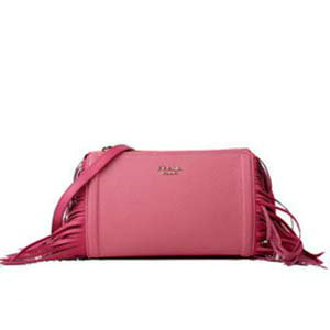 2014 Prada  grained calf leather shoulder bag BT6043 Pink