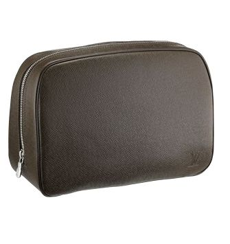 Louis Vuitton M30218 Taiga Leather Toiletries Pouch Bags