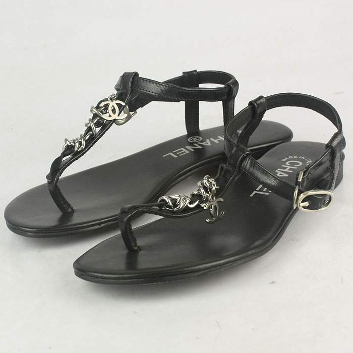 Chanel Real Leather Sandals - Chanel0237
