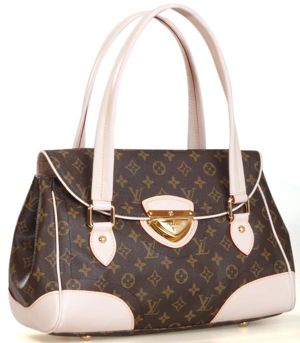 Louis Vuitton m40120 Monogram Canvas Beverly GM