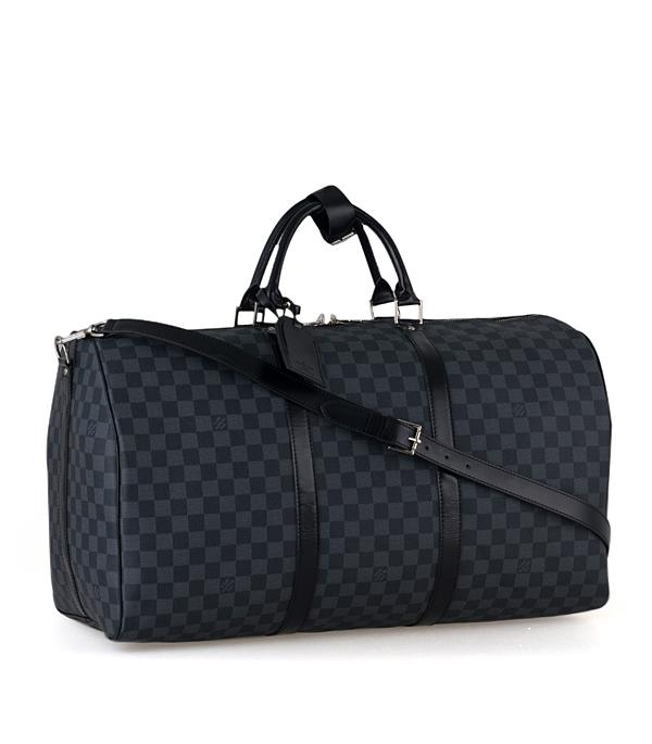 Louis Vuitton n41413 Damier Graphite Keepall 55
