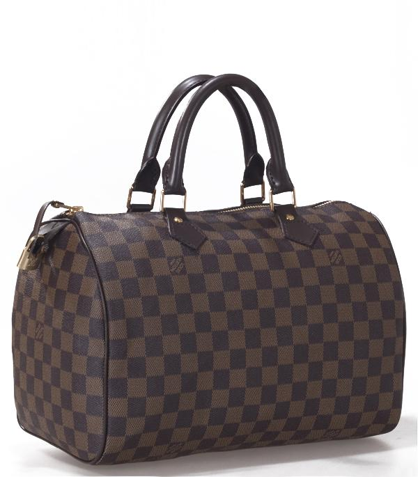 Louis Vuitton n41526 Damier Canvas Speedy 30