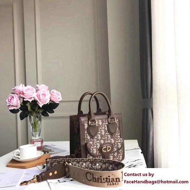 da2a82d65 Dior Oblique Signature Canvas Tote Bag Coffee 2017/2018 [Dior ...