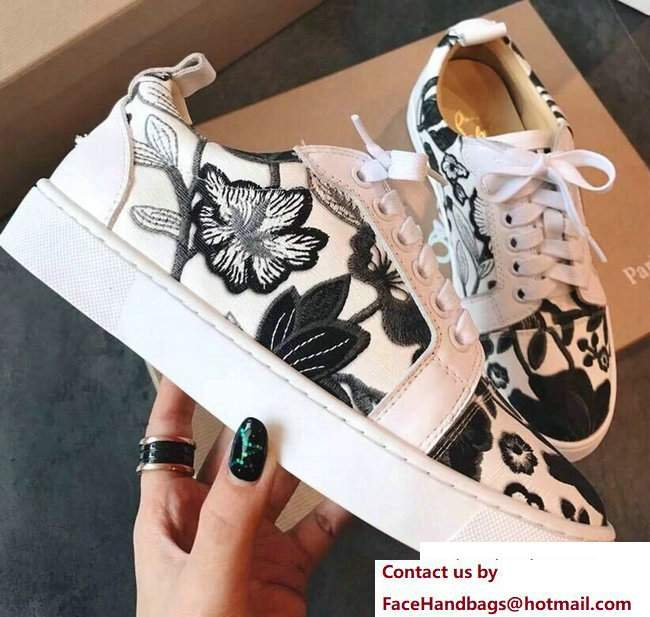 Christian Louboutin Floral Sneakers 04 2018