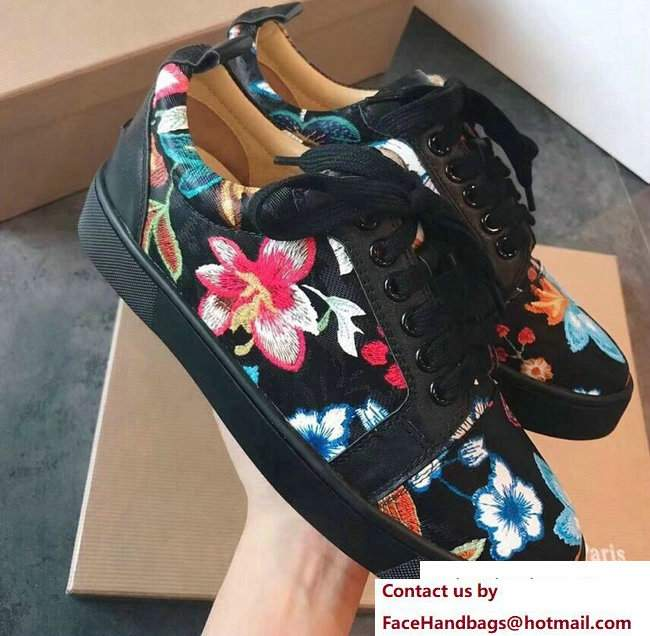 Christian Louboutin Floral Sneakers 06 2018
