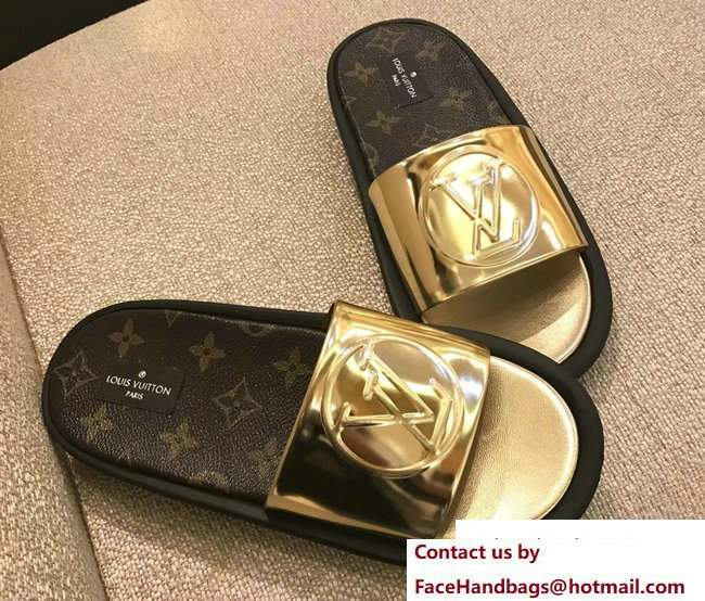 Louis Vuitton Sunbath Flat Mules 1A2VGB 2017