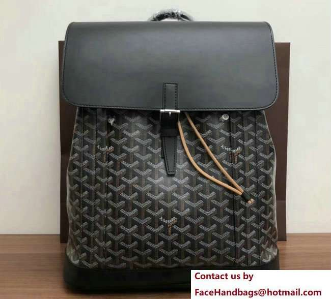 Goyard Alpin Backpack Bag Black