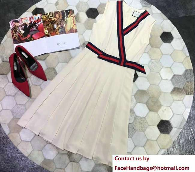 Gucci Jersey dress with Web 501485 2018