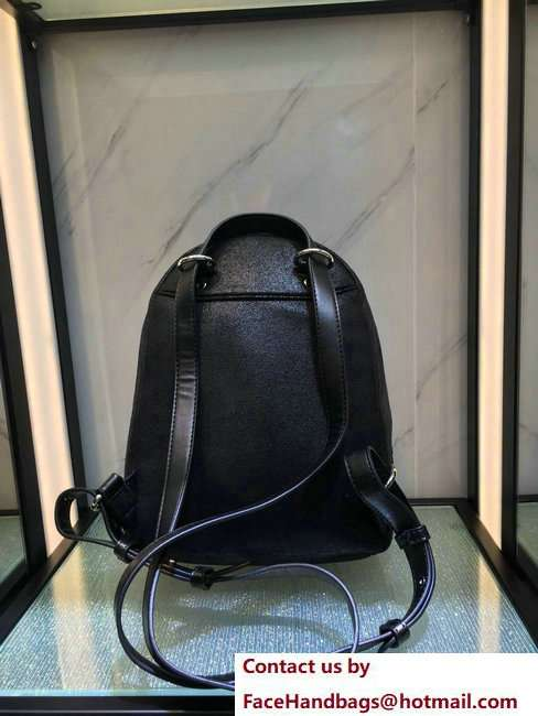 Stella McCartney Falabella Mini Backpack Bag Star Black